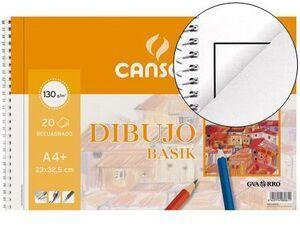 BLOCK DIBUJO GUARRO BASIK A4+ (LISO CON RECUADRO) 23X32.5 -0611- [I-7-3]