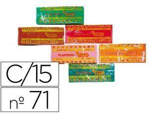 PLASTILINA JOVI 71 COLOR 150 GR. COLORES SURTIDOS