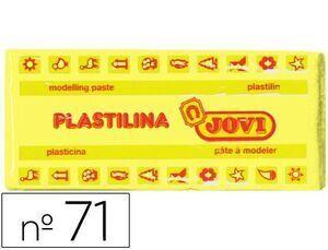 PLASTILINA JOVI 71 COLOR 150 GR. AMARILLO CLARO (ENV.15)