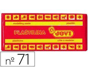 PLASTILINA JOVI 71 COLOR 150 GR. ROJO (ENV.15) [D-1-5]