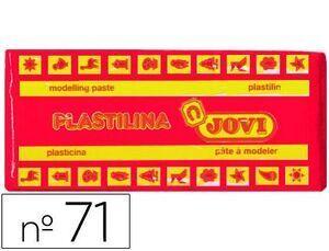 PLASTILINA JOVI 71 COLOR 150 GR. RUBI / MAGENTA (ENV.15)