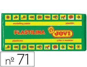 PLASTILINA JOVI 71 COLOR 150 GR. VERDE CLARO (ENV.15) [D-1-3]