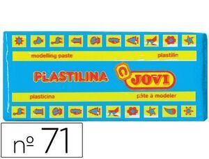 PLASTILINA JOVI 71 COLOR 150 GR. AZUL CLARO (ENV.15) [D-1-3]