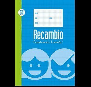 RECAMBIO LAMELA FOLIO CUADRICULA 4 MM (09004)