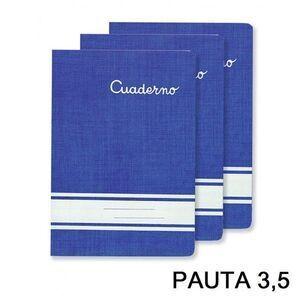 CUADERNO 32 HOJAS PAUTA 3.5 (20107) [I-7-1]