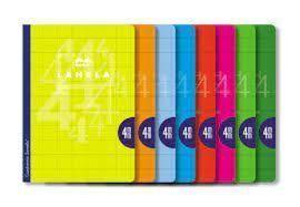 LIBRETA LAMELA A4 4MM CUADROVIA 50H (06A4004) [J-3-3]