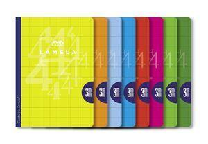 LIBRETA LAMELA A4 3MM CUADROVIA 50H (06A4003) [J-4-3]