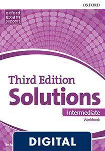 SOLUTIONS 3RD EDITION INTERMEDIATE. WORKBOOK OLB EBOOK (LIBRO DIGITAL)