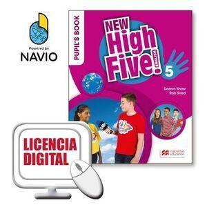 NEW HIGH FIVE! 5 PUPIL