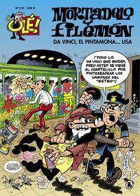 DA VINCI, EL PINTAMONA....LISA. (MORTADELO Y FILEMON 212)