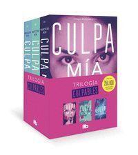 TRILOGIA CULPABLES (PACK CON: CULPA MIA / CULPA TUYA / CULPA NUESTRA)