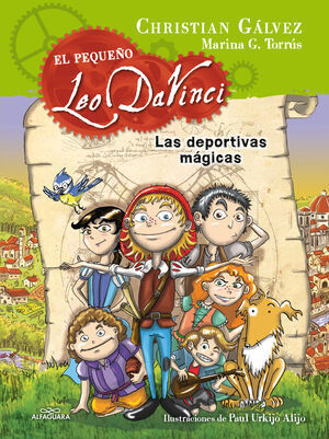 LAS DEPORTIVAS MAGICAS (LEO DA VINCI Nº 1)