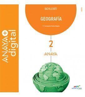 GEOGRAFÍA, 2 BACHILLERATO (LIBRO DIGITAL) ANAYA