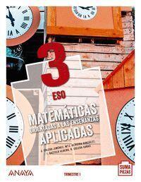 MATEMÁTICAS ORIENTADAS A LAS ENSEÑANZAS APLICADAS 3