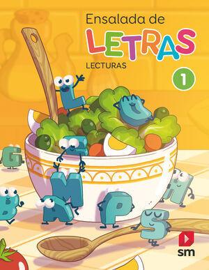 1º EP ENSALADA DE LETRAS - LECTURAS SM