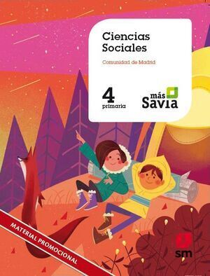 CIENCIAS SOCIALES 4º EP MADRID MAS SAVIA ED.2019 SM