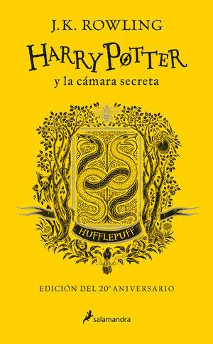 HARRY POTTER Y LA CAMARIA SECRETA (20 ANIV.HUFFLEPUFF/AMARILLO)