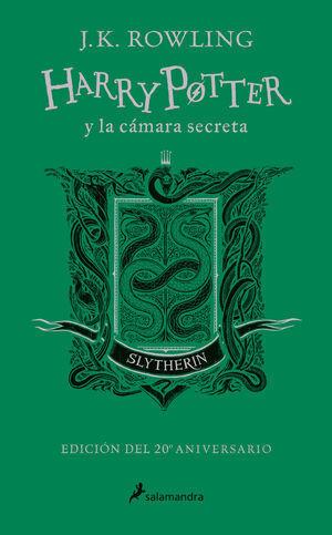 HARRY POTTER Y LA CAMARIA SECRETA (20 ANIV.SLYTHERIN/VERDE)
