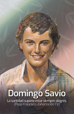 CALENDARIO BOLSILLO, DOMINGO SAVIO
